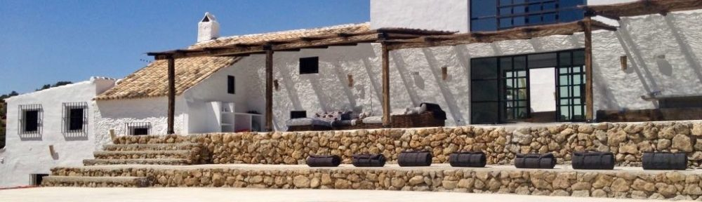quirky cortijo with beautiful stylish simplicity